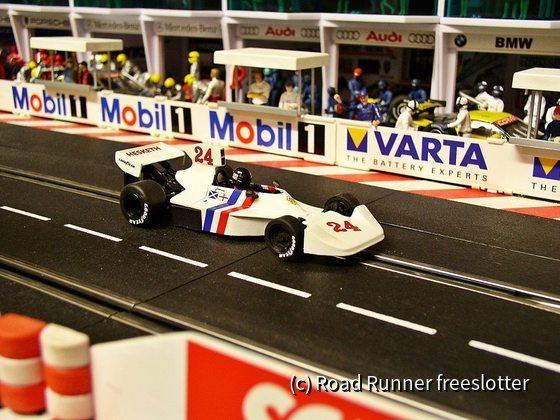 F1 '74, Nonno Slot Hesketh 308, James Hunt
