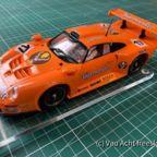 02 - BRM Porsche GT Jaegermeister No_17 (Orange Kit)