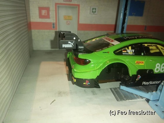 Carrera DTM BMW M4 Eigenbau Play Station