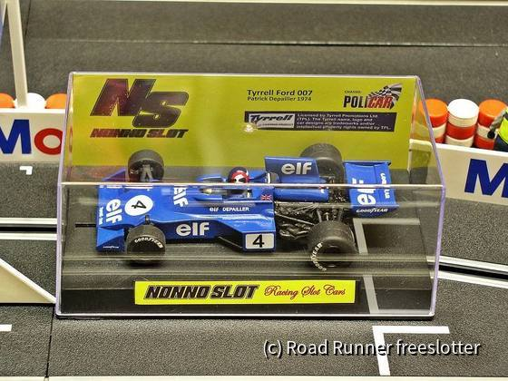 F1 '74, Nonno Slot Tyrrell 007, Patrick Depailler