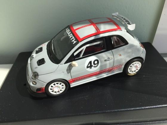 """Racer Silverline Fiat Abarth 500 """"Grau"""""""