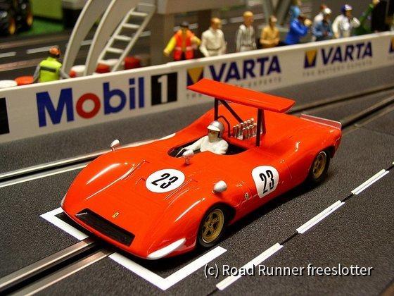 Völkl Ferrari 612P, CanAm 1968