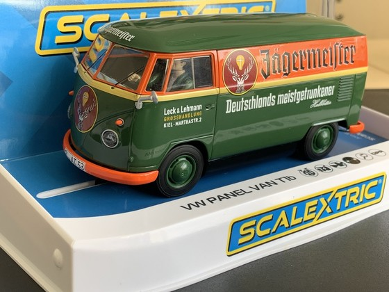 Scalextric VW Bus Jägermeister