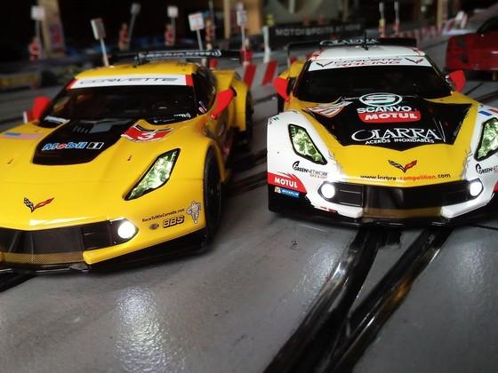 Meine beiden gelben Corvettes
