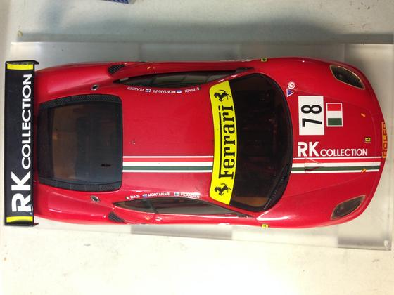 Mini-Z Ferrari F430 GT No.78-2