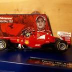 """Carrera Digital 132 Ferrari 150 Italia """"No 6"""" Felipe Massa"""