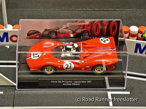 Proto Slot Ferrari 350 P4 CanAm