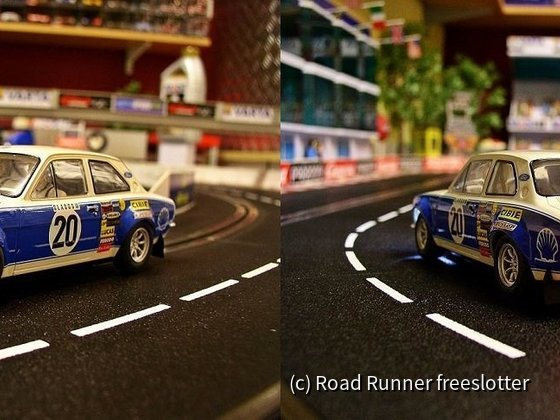 Scalextric Ford Escort RS 1600, Hannu Mikkola 1973