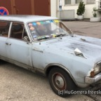 Opel Rekord Gothic Look