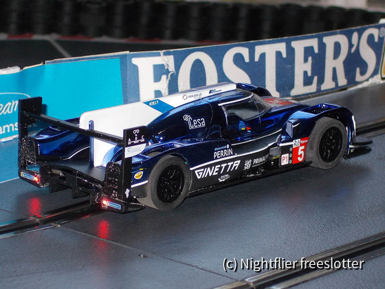 Scalextric Ginetta #5 back