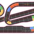 Brickyard Basemend Speedway Streckenplan