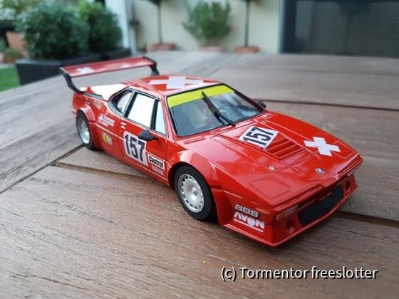 BMW M1 1985 Le Mans #157 Team Schweiz