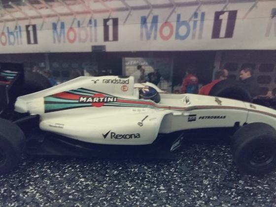 Scalextric Martini Williams Bottas
