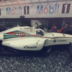 Scalextric Martini Williams Bottas
