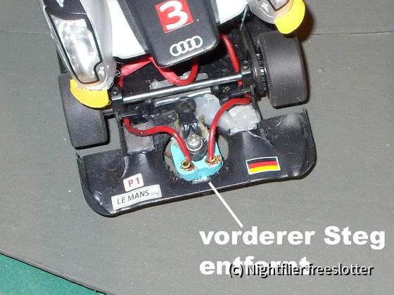 Slot.it LMP und Frankenslot Leitkiel 01