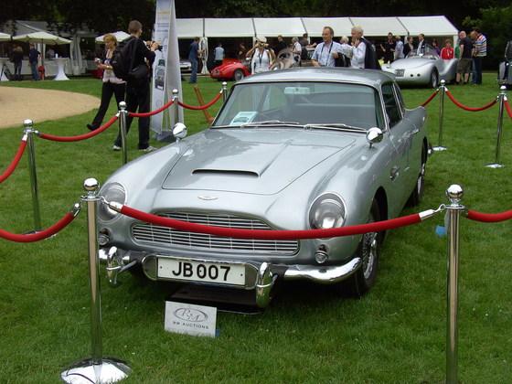 Aston Martin - JB 007 - Classic Days Schloss Dyck, 2010