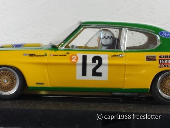 SCR Capri mit 3D-Druck Fahrwerk und Slot.it Technik