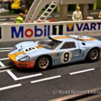 LeMans'68, Scalextric Ford GT40 Mk1, Rodriguez/Bianchi
