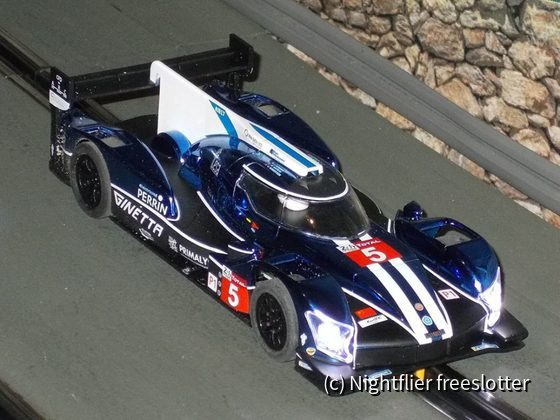 Scalextric Ginetta #5 front