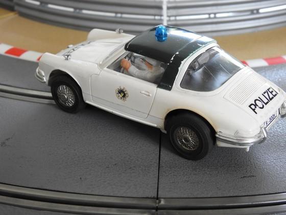 Märklin Sprint: 1318 - Porsche 911 Polizei