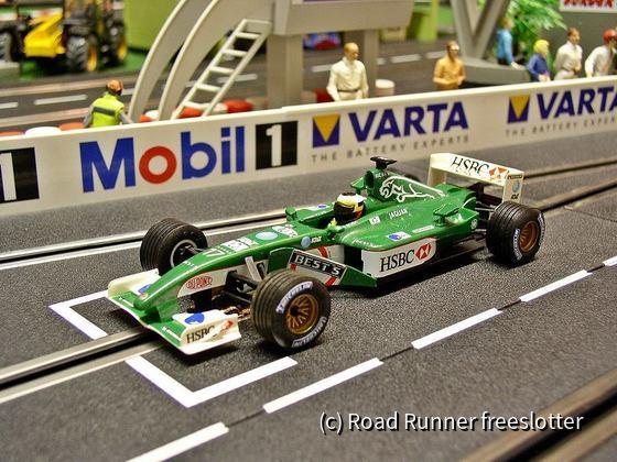 F1'02, SCX Jaguar R3/R3B, Pedro de la Rosa
