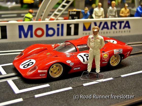 LeMans'69, MMK/TKP Ferrari 312P, Pedro Rodriguez