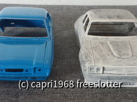 GFK vs. Welly DieCast Capri