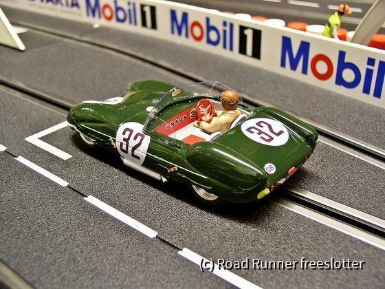 Hunaudieres Resin Models, Lotus Mk XI, Le Mans 1956