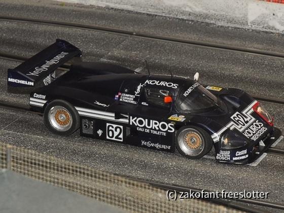 Mercedes C9 Revell 1:24 auf SC-chassis digitalisiert