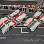 CanAm'70, B.R.M. P154, MG-Vanquish vs. CG-Slotcars
