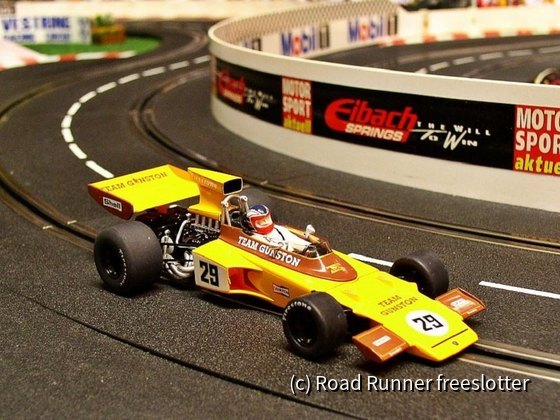 F1 '74, Scalextric Lotus 72, Ian Scheckter