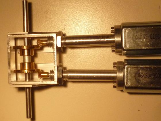 Transaxle für 1.18 Metals, hier als Twin