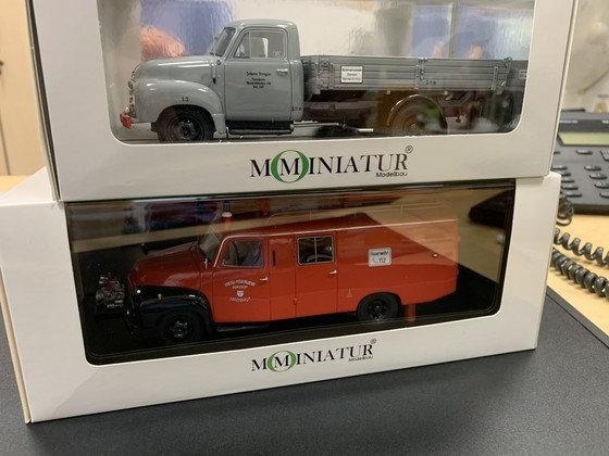 MO Miniatur Opel Blitz