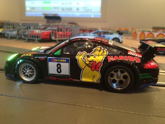 Carrera D132 Porsche Tuning
