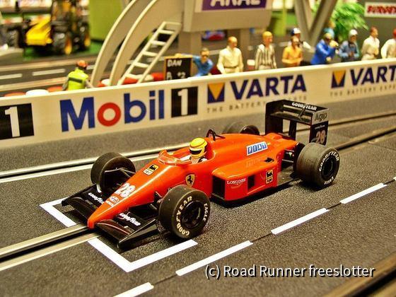 Scalextric Ferrari F1/87, Gerhard Berger