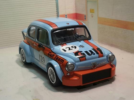 Fiat Abarth Gulf 01