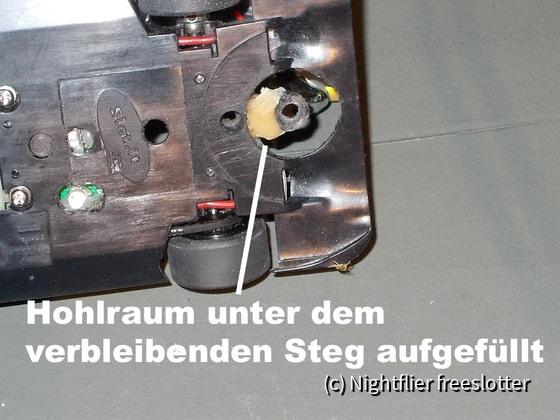 Slot.it LMP und Frankenslot Leitkiel 03