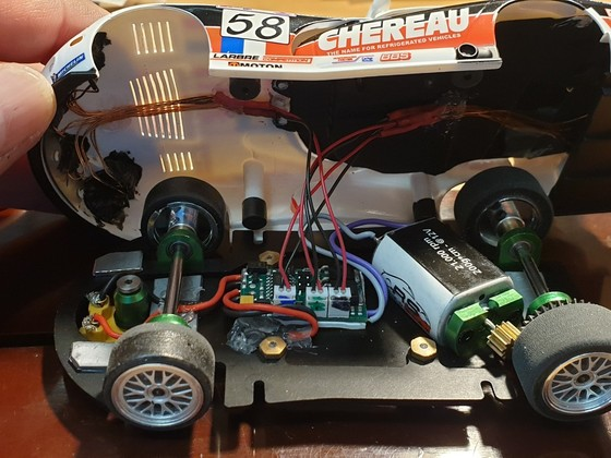Chrysler Viper GTS-R Chereau #58 Digitalisierung