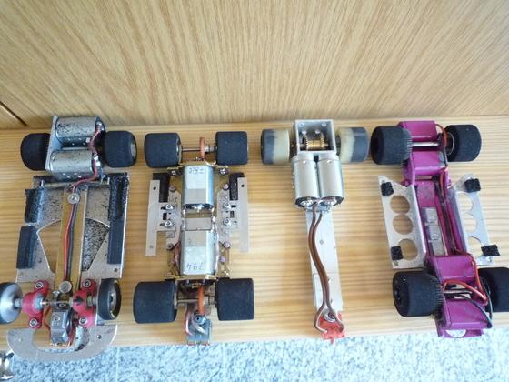Chassis Varianten von Heavy`s 1:24 Metall NASCAR
