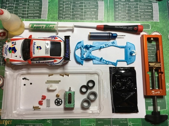 21 NSR GT3 Umbaumaterial