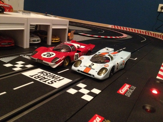 Carrera Digital 124, Porsche 917K und Ferrari 512S