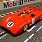 CanAm '69, Aurora Ferrari 612P (Copy)