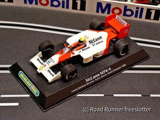 Scalextric McLaren-Honda MP4/4, Ayrton Senna 1988