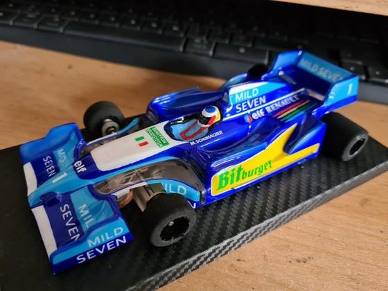 JK Open Box Benetton Renault Michael Schumacher
