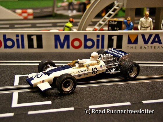 F1 '70, Scalextric Lotus 49, Pete Lovely
