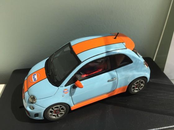 """Racer Silverline Fiat 500 Abarth """"Gulf"""""""