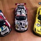 WRT Audi.. Elten Porsche.. HRC AMG/SLS