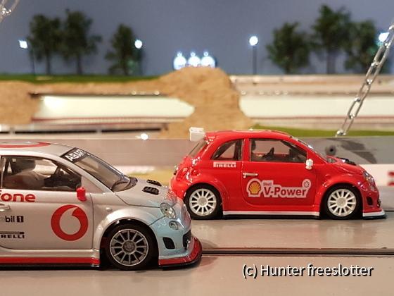 ASRC NSR Abarth 500 Shell + Vodafone
