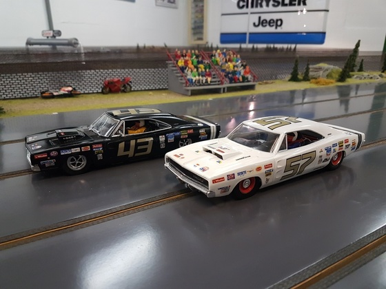 68er Charger als Stockcars