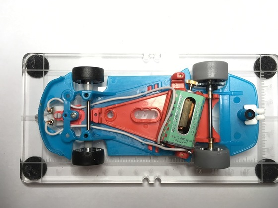 33 NSR GT3  Chassis Aufbaustufe 2
